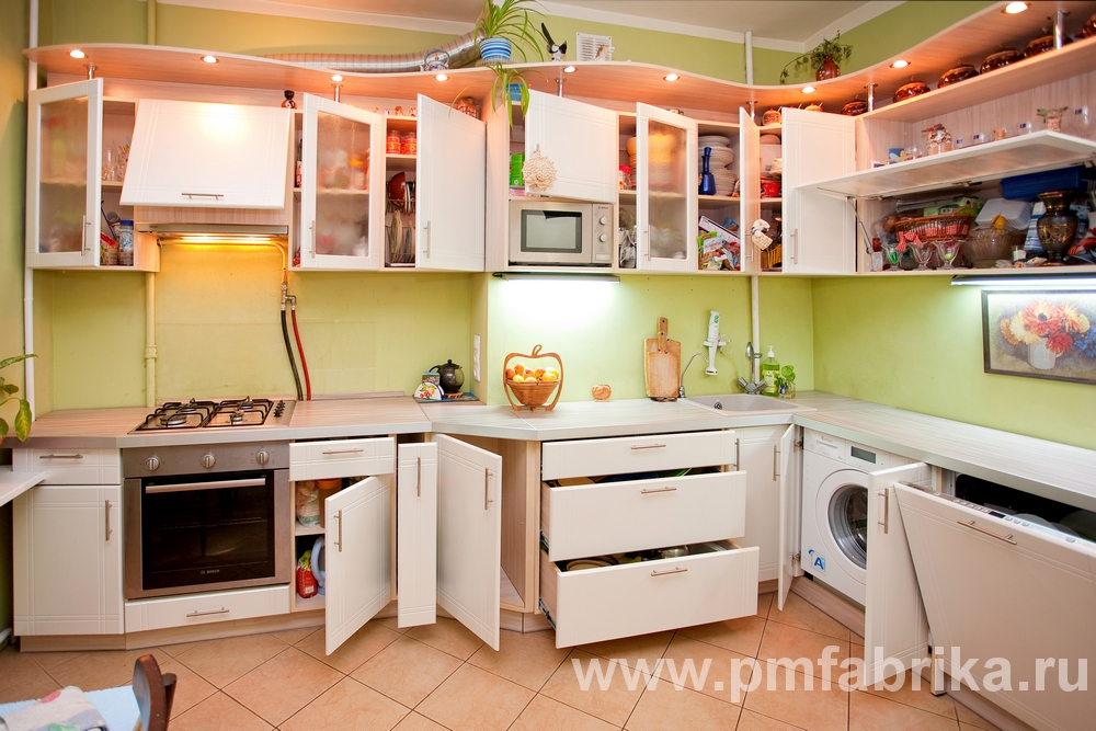 Дизайн нестандартных кухонь